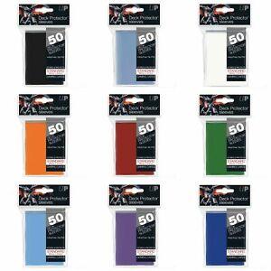 Ultra Pro Standard Deck Protector Sleeves I MTG Pokemon Card Sleeves (50)