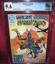 SUICIDE SQUAD #54 DC COMIC 1991 (1987 1ST SERIES) CGC 9.6 WHITE PAGES