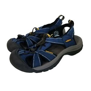 Keen Boys Youth SandalsnNavy Blue And Yellow size 6