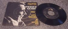 """Perry Como """"My Own Peculiar Way"""" RCA VICTOR #47-8533 WITH PICTURE SLEEVE"""