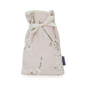 Blue Badge Co Pink Cherry Blossom Mini Hot Water Bottle 0.5L