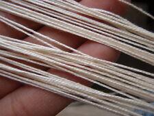 YARN for Bobbin LACE - 100% Silk - 1 x 20 Grams skein - Natural - FREE SHIP