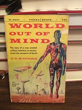 World Out of Mind by J. T. M'Intosh, PB, 1956