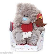 """Me To You - 9"""" Tatty Teddy Bear with Scarf & Robin G01W4204"""