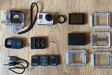 GoPro Hero 3 Black Edition + 3 Batteries + LCD Touchscreen Display + Accessories