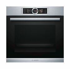 Bosch Series 8 60cm 71l Pyrolytic Electric Wall Oven HRG6767S2A