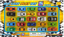25 PC Set Diecast Car Collection Model Toy Cars Kids Gift Playset Race