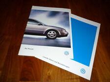 VW Passat Prospekt 06/1999
