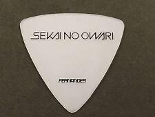 New Guitar Pick FERNANDES P-100 SEKAI NO OWARI from JAPAN