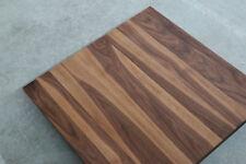 Tischplatte Platte Nussbaum Massiv Holz Tisch Brett Leimholz Platte Holzplatte !