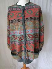 Unbranded Woolen Floral Jumpers & Cardigans for Women