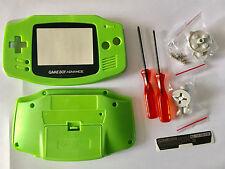 Austausch Ersatz Komplett Gehäuse für Gameboy Advance / GBA Green