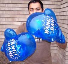 HUGE BANG BANG FIGHTING INFLATE BLOWUP PUNCHING BOXING GLOVES large inflateable