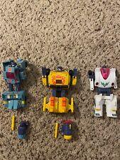 Transformers  European  Scorch Boss Hurricane Turbomaster lot