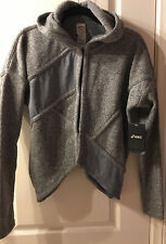 Asics - Asymmetrical Cardigan - Grey - Size Medium - NWT