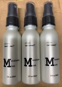 After Tan towel Moisture Mist Spray For the Self Tanner, 2oz Each Pack Of 3
