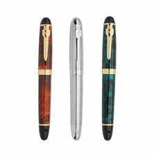 Jinhao X450 Metal Golden Clip Fountain Pen 0.5mm Nib Students Writing Gift #s14