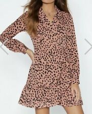 Ivivi Meow-ment of Truth Cheetah Dress Size S {N36}