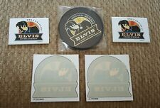 ELVIS PRESLEY collection Insiders Memorabilia 2008-2010 coasters magnets decals