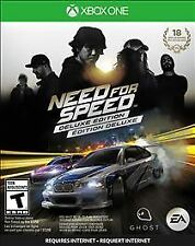 Need for Speed: Deluxe Edition (Microsoft Xbox One, 2015)