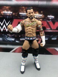 WWE CM Punk Action Figure Mattel Elite Wrestling Series 16