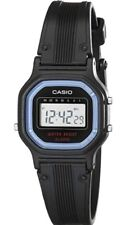 WOMEN'S CASIO LA 11W DIGITAL ALARM WRIST WATCH, RELOJ CASIO ORIGINAL PARA MUJER