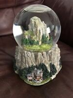 Yosemite National Park Water Dome Snow Globe Music Box America The Beautiful