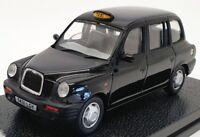 Vitesse 1/43 Scale Model Car 10206 - 1998 TX1 London Taxi Cab - Black