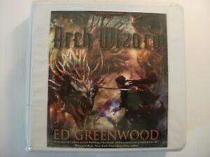 UNABRIDGED 11-Disc CD AUDIOBOOK: ARCH WIZARD (Ed Greenwood) Dragons Dark Lord