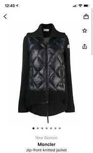 Authentic Moncler Woman Jacket Size S In Good Condition
