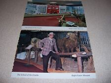 1970s RALPH FOSTER & MUSEUM SCHOOL of the OZARKS POINT LOOKOUT MO. POSTCARD LOT