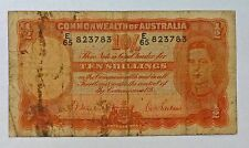 {BJStamps} Commonwealth of Australia TEN Shillings P 25a