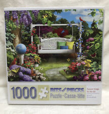 "Nature Sings To Me III 3 Bits And Pieces 1000 Piece Puzzle 20x27"" NEW"