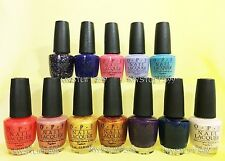 Opi Nail Lacquer *Euro Centrale Collection 2013* 12 Shades Set New Free Ship!