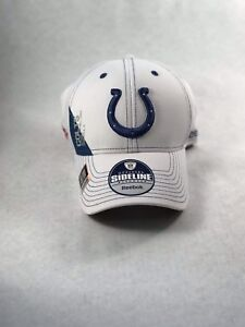 Brand New Rare Reebok NFL Official Sideline Colts Ball Cap Superbowl Size S/M