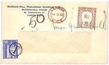 EE255 1961 GB London Switzerland Cover {samwells-covers}PTS