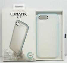 LunaTik Air Protection Case For iPhone 8 Plus & 7 Plus Vapor Blue