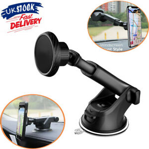 360° In Car Magnetic Phone Holder Dashboard Windscreen Universal Mount Rotatable