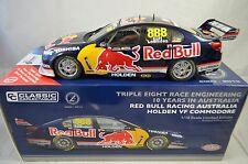1:18 Lowndes/Luff #888 Holden VF Commodore RedBull 10 Yrs Aus Book Classic Carl.