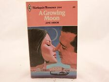 GOOD!! A Growing Moon by Jane Arbor Harlequin Romance 2108 Z-1
