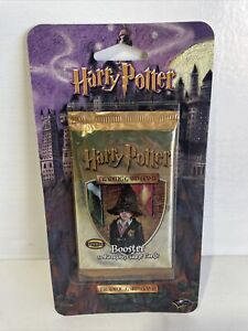 MINT Harry Potter TCG Base Set Blister Booster Pack FACTORY SEALED WOTC