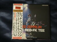 LED ZEPPELIN THE RED FK TEE 1972 2CD Cobo Hall, Detroit, June 6th 1972