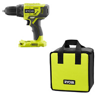 NEW RYOBI 18V 2- SPEED 1/2 INCH DRILL/DRIVER P215 Bare tool with Free Tool Bag