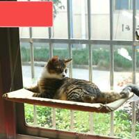 Cat Kitty Basking Window Hammock Perch Cushion Bed Hanging Shelf Seat Mounted XI