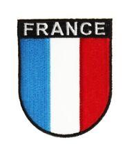 Frankreich Wappenpatch 8 * 6,5 cm, Patch, Flagge, Aufnäher