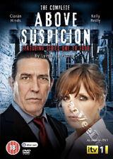 Above Suspicion - Series 1-4 NEW PAL Cult 4-DVD Set Ciarán Hinds Kelly Reilly