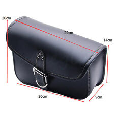 Motorcycle PU Leather Solo Bag Swingarm SIDE Bag for Harley Sportster 1200 XL