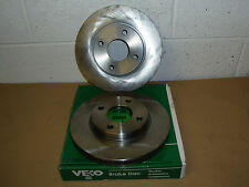 Ford Mondeo 1.6-1.8-1.8TD-2.0 1993-2000 VL605 Vented Front Brake Discs (Pair)