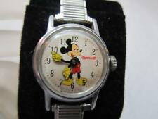 Vintage Ingersoll Mickey Mouse Watch 60's Ladies Mechanical Speidel Watch Band