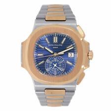 Patek Philippe 5980/1AR-001 Nautilus Chronograph Steel & 18k Rose Gold Men's Watch